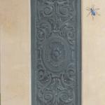 Trompe l'oeil di bassorilievo ornamentale