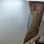 Restauro di soffitto dipinto - Prima