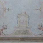 Restauro di soffitto dipinto XIX sec-Dopo