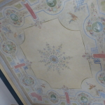Restauro di soffitto dipinto