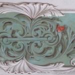 Trompe l'oeil di scultura ornamentale