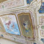 Restauro di soffitto dipinto XIX - primasec