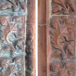 Restauro di Terracotta Medievale Prima e Dopo