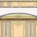 Decorazione di Camera-Bozzetto